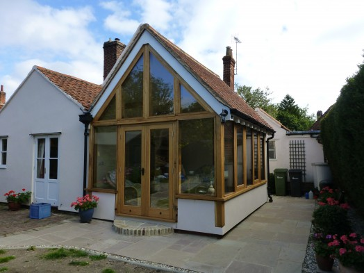Holy Cottage extension